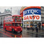 Puzzle  DToys-64301-NL01 Bei Nacht - England, Lodon: Piccadilly Circus