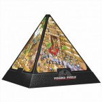 DToys-65964-PC01 3D Pyramide - Ägypten: Cartoon / schwieriges Puzzle