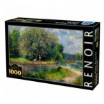 Puzzle  DToys-66909-RE07-(74904) Auguste Renoir - Chestnut Tree in Bloom