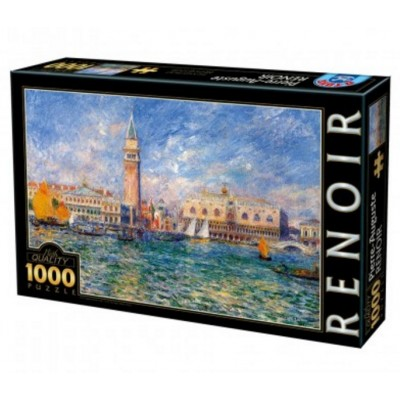 Puzzle DToys-66909-RE08-(74911) Pierre-Auguste Renoir: The Doge's Palace, Venice