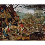 Puzzle  DToys-66947-BR03-(70012) Brueghel: Herbst