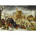 Puzzle  DToys-66947-BR04-(70005) Brueghel: Winter