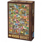 Puzzle  Dtoys-67555-VP-14 Collage - Money