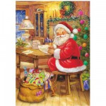Puzzle  DToys-67623-CH03 Christmas Collection: Wunschzettel