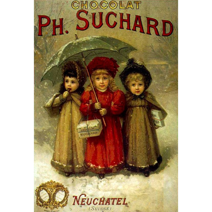 Vintage Posters: Chocolats Ph. Suchard
