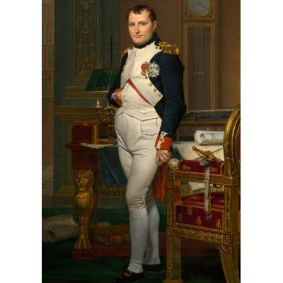 Puzzle Dtoys-72719-DA-02 Jacques-Louis David: The Emperor Napoleon in his study at the Tuileries, 1812