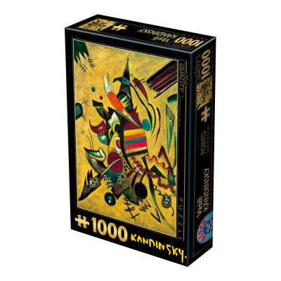 Kandinsky vassily points 1000 teile dtoys puzzle for Puzzle kandinsky
