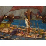 Puzzle  Dtoys-72917 Waterhouse John William: Ulysses and the Sirens, 1891