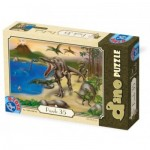 Puzzle  Dtoys-73013-DP-01 Dinosaurier