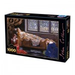 Puzzle  Dtoys-73822-CO01 John Collier - The Sleeping Beauty