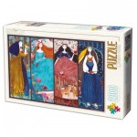 Puzzle  Dtoys-73860 Kurti Andi - Collage