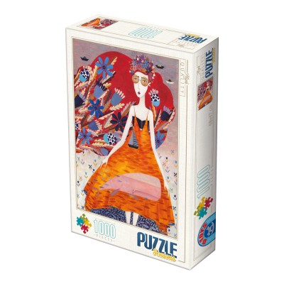 Puzzle Dtoys-74645 Andrea Kürti - Sommer