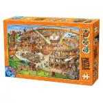 Puzzle  Dtoys-74676 Cartoon Collection - Kolosseum