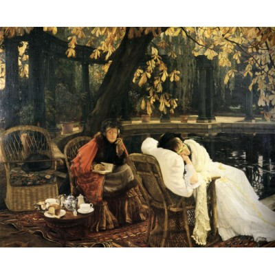Puzzle Dtoys-75079 James Tissot: A Convalescent