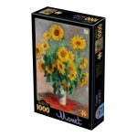 Puzzle  Dtoys-75864 Claude Monet
