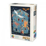 Puzzle  Dtoys-75970 Owl Tales