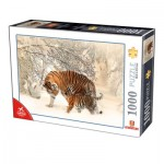 Puzzle  Dtoys-75987 Tigers