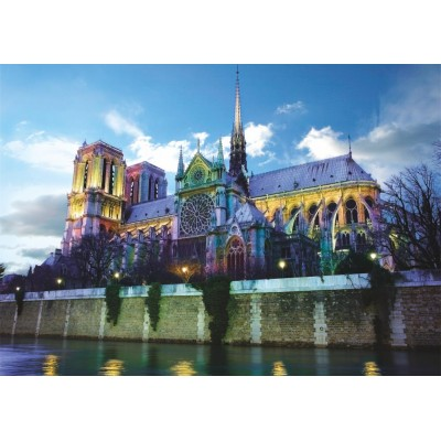 Puzzle Dtoys-76069-FR02 Notre Dame de Paris, France