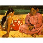 Puzzle  Dtoys-76465 Gauguin: Frauen am Strand