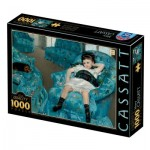 Puzzle  Dtoys-77387 Mary Cassatt : Little Girl in a Blue Armchair