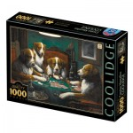 Puzzle  Dtoys-77394 Cassius Marcellus Coolidge - Poker Game