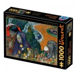Puzzle  Dtoys-77714 Van Gogh Vincent : Memory of the Garden at Etten