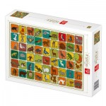 Puzzle   Pattern Forest Animals