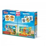 2 Puzzles Lion Guard + Memo + Domino