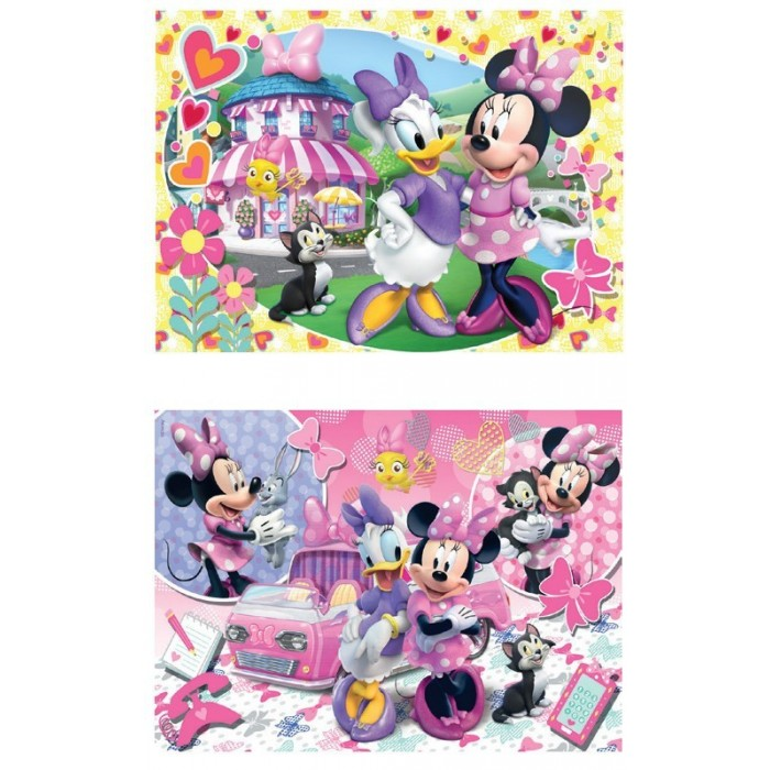 2 Puzzles - Minnie Mouse