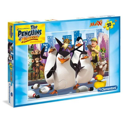 Puzzle Clementoni-07430 XXL Teile - The Pinguins of Madagascar