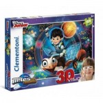 Puzzle  Clementoni-20135 Miles From Tomorrow - 3D Vision