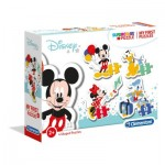 Clementoni-20819 My First Puzzle - Disney Baby (4 Puzzles)