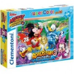 Puzzle  Clementoni-23715 XXL Teile - Mickey and the Roadster Racers