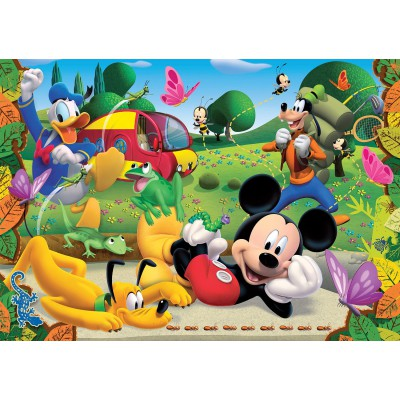 Puzzle Clementoni-23974 XXL Teile - Mickey Mouse