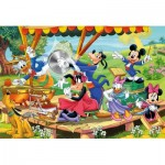 Puzzle  Clementoni-24218 XXL Teile - Mickey and Friends