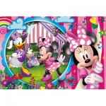 Puzzle  Clementoni-25462 XXL Teile - Minnie Happy Helpers
