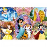 Clementoni-25463 Giant Floor Puzzle - Disney Princess