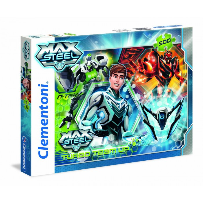 Turbo Team-up Max Steel