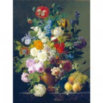 Puzzle  Clementoni-31415 Van Dael: Vase mit Blumen
