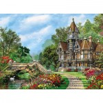Puzzle  Clementoni-35048 Altes Cottage