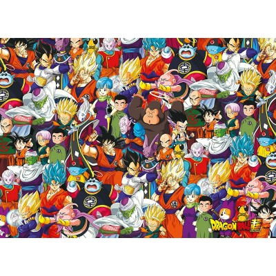 Clementoni-39489 Impossible Puzzle - Dragon Ball
