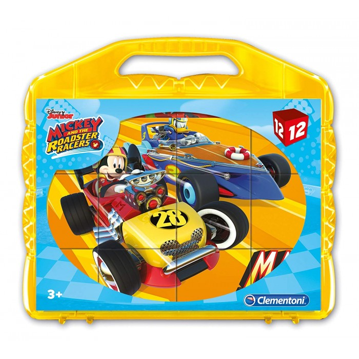 Würfelpuzzle - Ben 10Mickey and the Roadster Racers