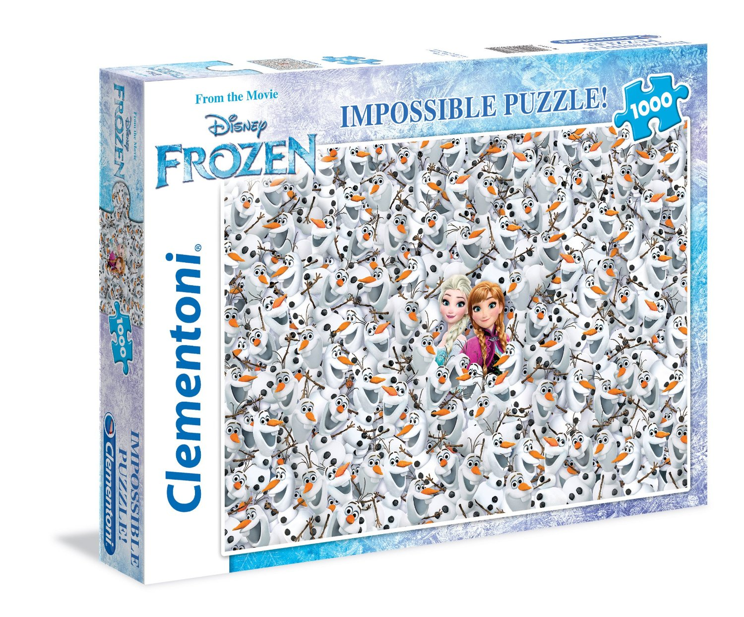 impossible puzzle frozen die eisk nigin 1000 teile clementoni puzzle online kaufen. Black Bedroom Furniture Sets. Home Design Ideas