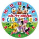 Mickey Mouse Club Haus - Puzzleuhr mit Mechanismus