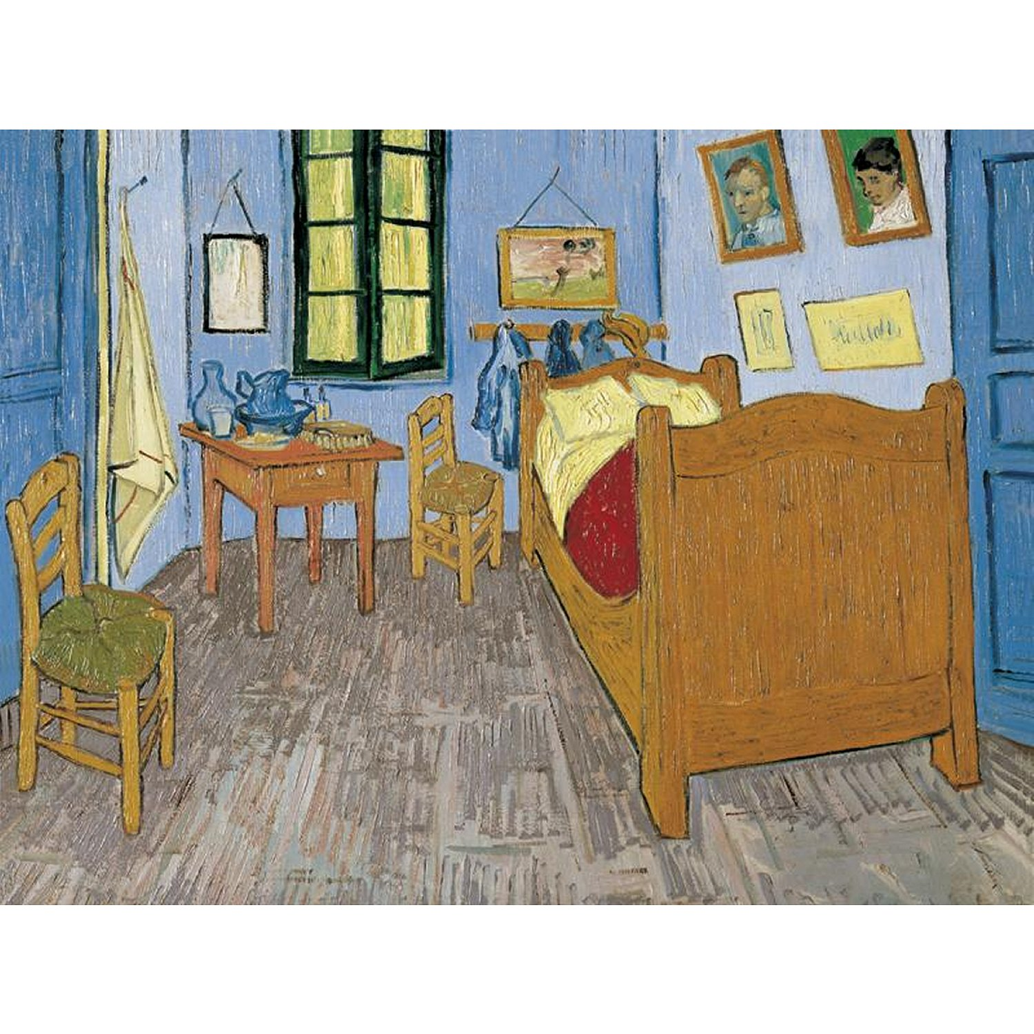 vincent van gogh: schlafzimmer in arles - 1000 teile - clementoni
