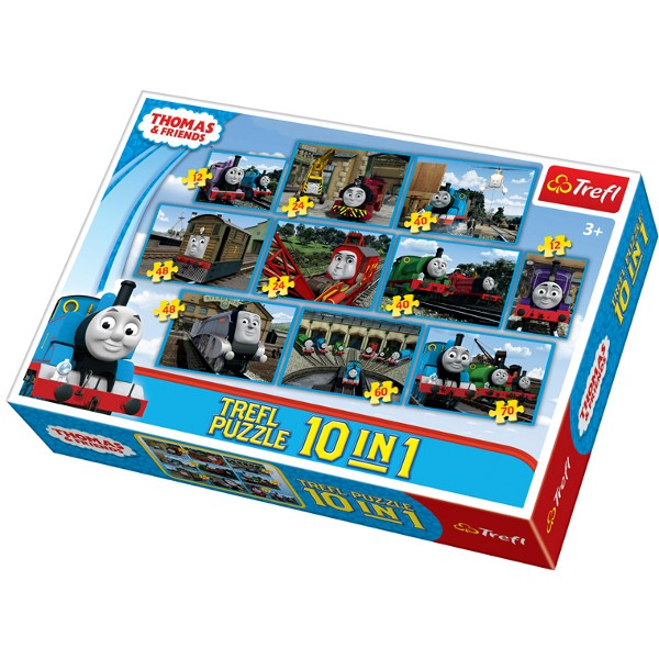 10 in 1 puzzle sets