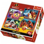 4 Puzzles - Incredibles 2