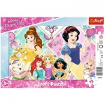 Rahmenpuzzle - Disney Princess