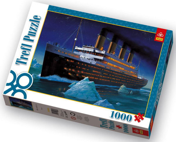 titanic 1000 teile puzzle von trefl puzzle online kaufen. Black Bedroom Furniture Sets. Home Design Ideas