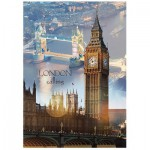Puzzle  Trefl-10395 London Calling